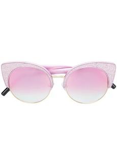 Matthew Williamson x Linda Farrow glitter cat-eye sunglasses