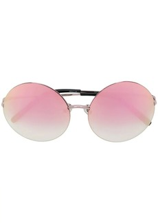 Matthew Williamson round frame sunglasses