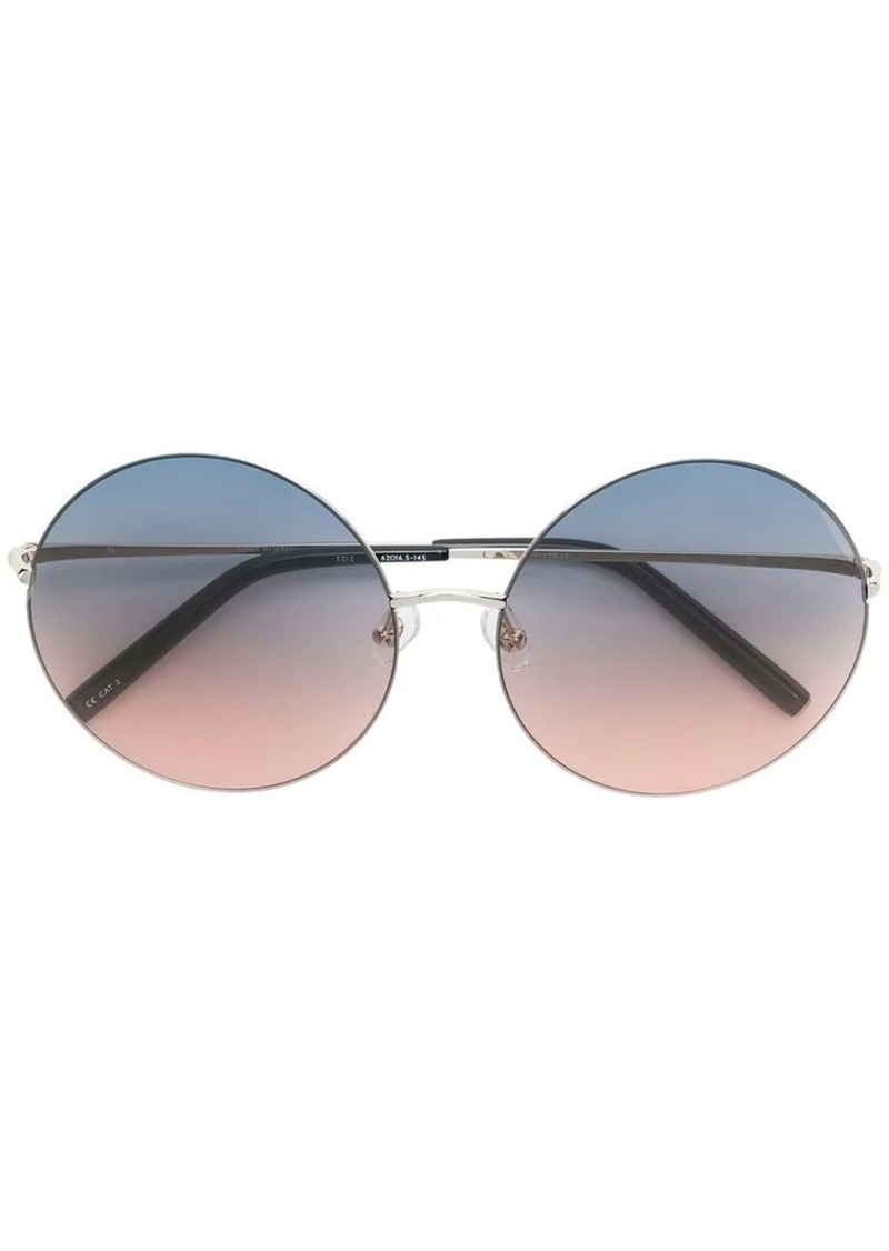 Matthew Williamson round gradient sunglasses