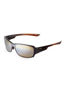 Maui Jim 60MM Bamboo Forest Sunglasses