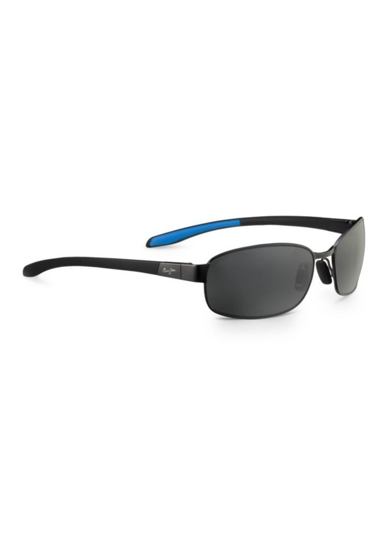f378ac5dc505 Maui Jim Maui Jim 61mm Salt Air Rectangular Wrap Sunglasses | Sunglasses