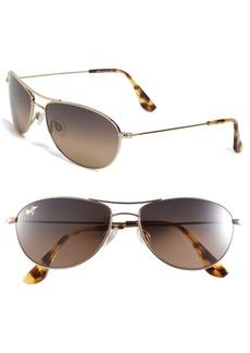 Maui Jim Baby Beach 56mm PolarizedPlus2® Aviator Sunglasses