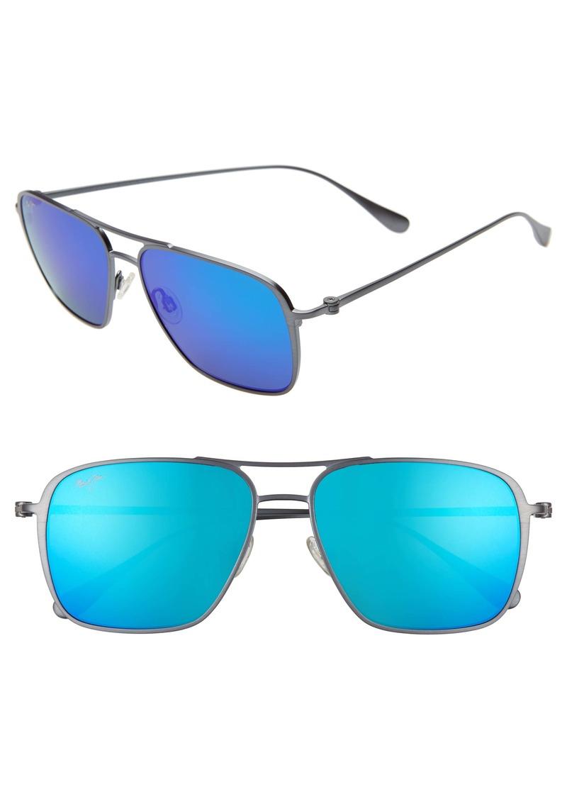 Maui Jim Beaches PolarizedPlus®2 57mm Navigator Sunglasses