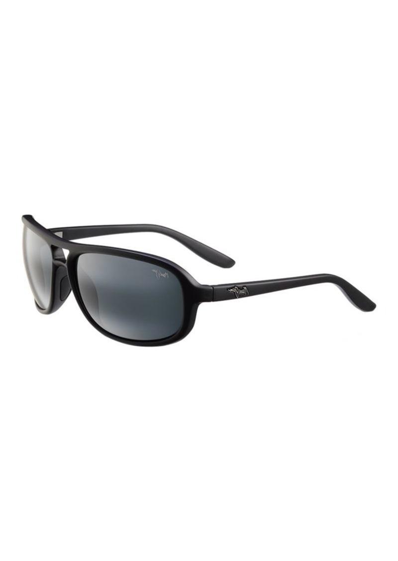 a97ac941829a Maui Jim Maui Jim Breakers Polarized Aviator Sunglasses   Sunglasses