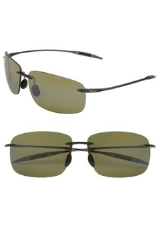 Maui Jim Breakwall 63mm PolarizedPlus2® Rimless Sunglasses