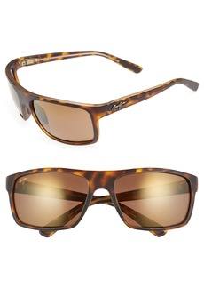 Maui Jim Byron Bay 62mm Polarized Sunglasses