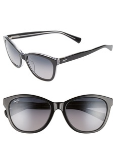 Maui Jim Canna 54mm Polarized Cat Eye Sunglasses