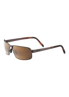 Maui Jim Castaway Polarized Rectangular Sunglasses