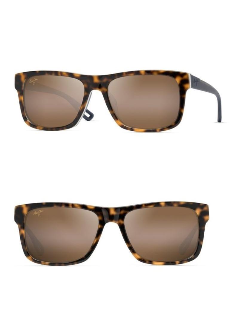 9fe56fbf08eb3 Maui Jim Maui Jim Chee Hoo 54MM Rectangular Sunglasses