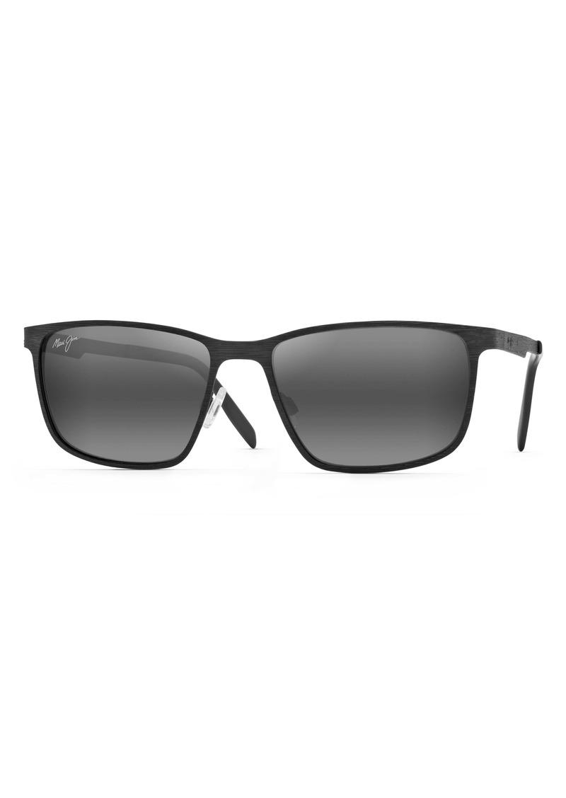 Maui Jim Cut Mountain 55mm Polarized Sunglasses