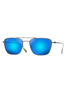 Maui Jim Ebb & Flow 54mm Polarized Navigator Sunglasses