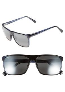 Maui Jim Flat Island 58mm PolarizedPlus® Sunglasses