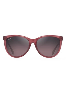 Maui Jim Glory Glory 56mm PolarizedPlus2® Cat Eye Sunglasses