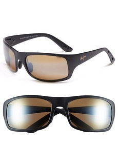 Maui Jim 'Haleakala - 66mm PolarizedPlus®2' Polarized Wrap Sunglasses
