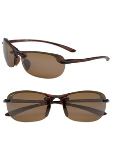 Maui Jim Hanalei 64mm PolarizedPlus2® Rimless Sunglasses