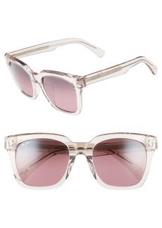 Maui Jim Heliconia 53mm PolarizedPlus2® Square Sunglasses