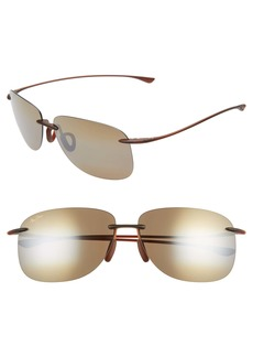 Maui Jim Hikina 62mm PolarizedPlus2® Rimless Sunglasses