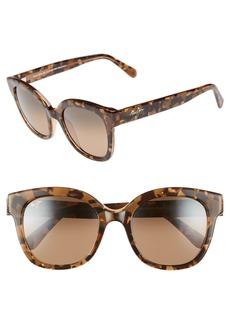 Maui Jim Honey Girl 51mm PolarizedPlus2® Cat Eye Sunglasses