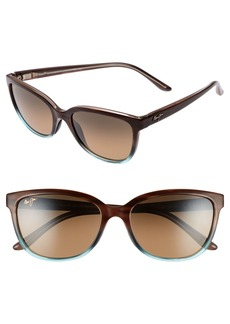 Maui Jim Honi 54mm Polarized Cat Eye Sunglasses