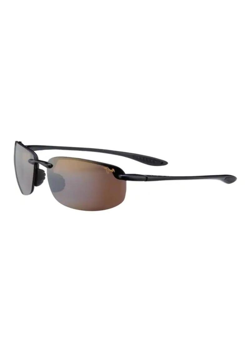 7b99f7f2db3 Maui Jim Maui Jim Hookipa Polarized Rimless Rectangular Sunglasses ...