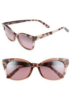 Maui Jim Ilima 53mm PolarizedPlus2® Cat Eye Sunglasses