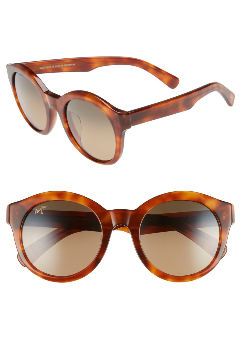 3d28a2ee48 Maui Jim Maui Jim Jasmine 51mm PolarizedPlus2® Round Sunglasses ...