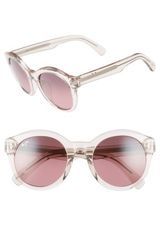Maui Jim Jasmine 51mm PolarizedPlus2® Round Sunglasses