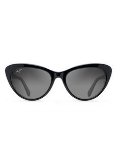 Maui Jim Kalani 54mm PolarizedPlus2® Cat Eye Sunglasses