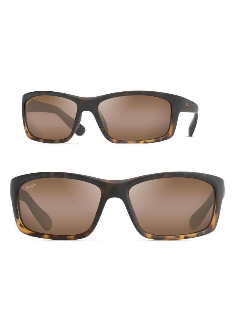 Maui Jim Kanaio Coast 61mm PolarizedPlus2® Sunglasses