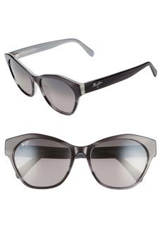 Maui Jim Kila 54mm Polarized Cat Eye Sunglasses
