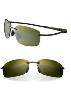 Maui Jim Kumu Rectangle Sunglasses
