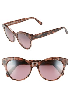 Maui Jim Ku'uipo 51mm PolarizedPlus2® Cat Eye Sunglasses