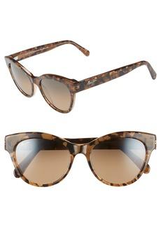 Maui Jim Ku'uipo 51mm PolarizedPlus2® Cat Eye Sunglasses