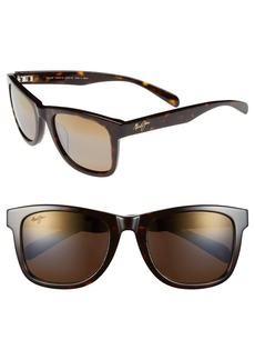 Maui Jim Legends 54mm PolarizedPlus® Retro Sunglasses