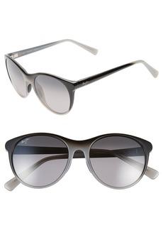 Maui Jim Mannikin 54mm PolarizedPlus® Cat Eye Sunglasses