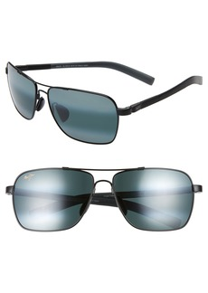 Maui Jim 'MauiFlex - Freight Trains' PolarizedPlus® 62mm Sunglasses