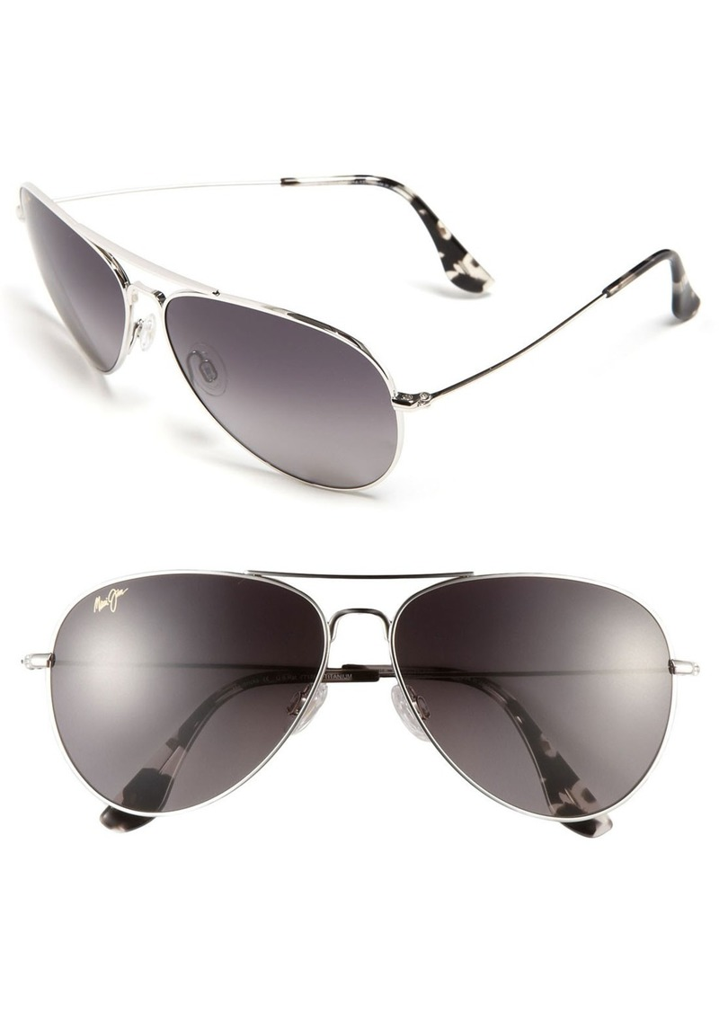 9413c36aa69d9 Maui Jim Maui Jim Mavericks 61mm PolarizedPlus2® Aviator Sunglasses ...