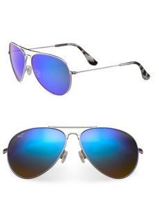 Maui Jim Mavericks Aviator Sunglasses