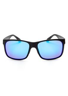 Maui Jim Men's Red Sands Polarized Mirrored Rectangle Sunglasses, 59mm