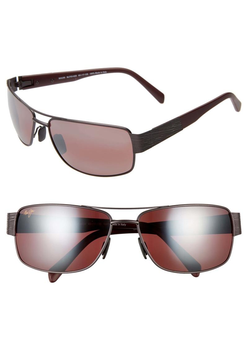 Maui Jim Ohia 64mm Oversize Polarized Sunglasses