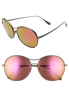 Maui Jim Opihi 61mm PolarizedPlus2® Round Sunglasses
