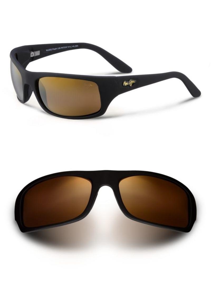 Maui Jim Peahi Wrap Polarized Sunglasses