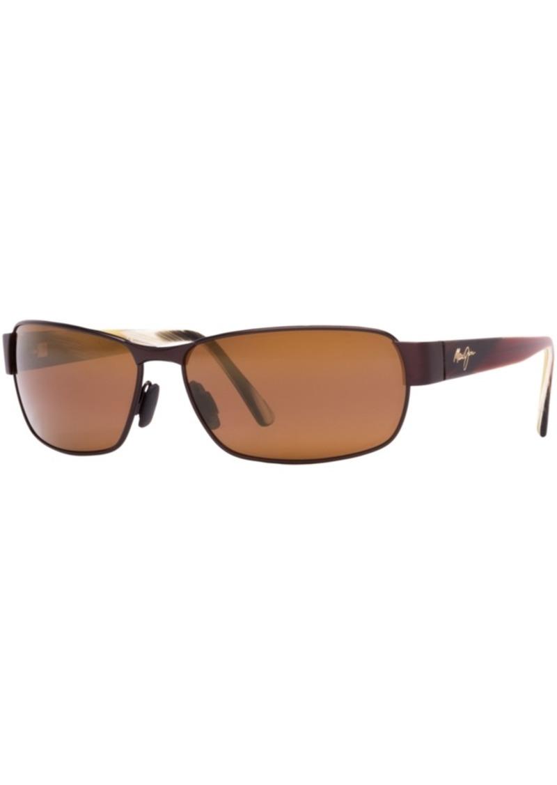 Maui Jim Polarized Black Coral Polarized Sunglasses, 249