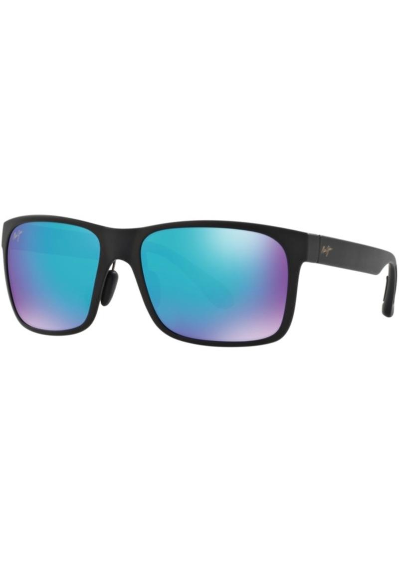 Maui Jim Red Sands Polarized Sunglasses, 432 Blue Hawaii Collection