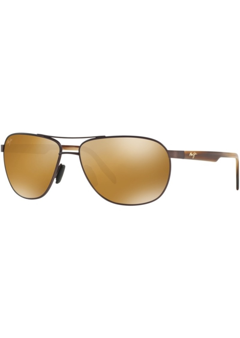 Maui Jim Polarized Sunglasses, 728 Castles