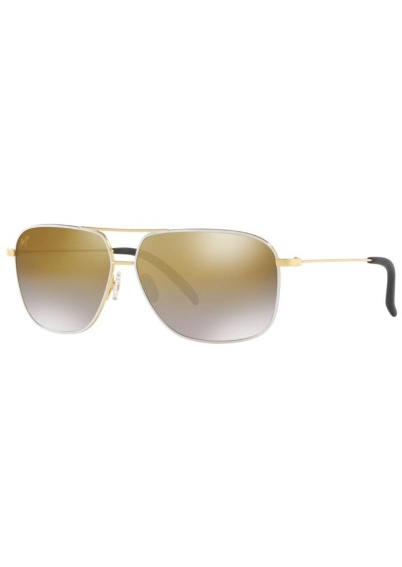 Maui Jim Polarized Sunglasses, 778 Kami 62