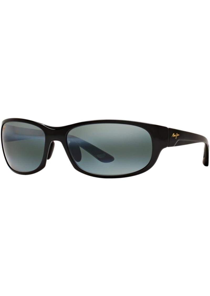 Maui Jim Polarized Twin Falls Polarized Sunglasses, 417 63