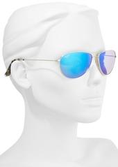 0e15069e02d ... Maui Jim Sea House 60mm Polarized Titanium Aviator Sunglasses ...