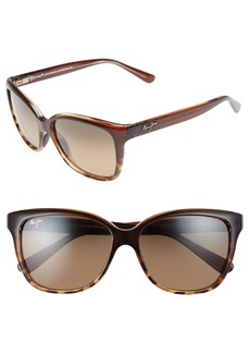 Maui Jim Starfish 56mm PolarizedPlus2® Cat Eye Sunglasses