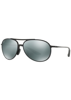 Maui Jim Polarized Sunglasses, 438 Alelele Bridge 60